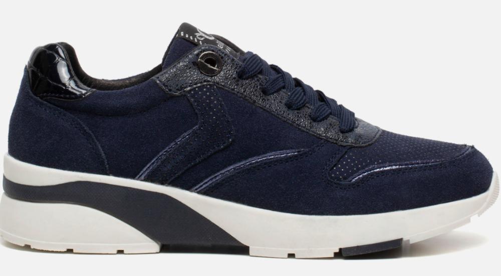 blauwe sneakers dames